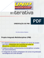 PIM1 unip - Caso Para Ser Abordao