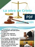 La obra de Cristo, justificación.pptx