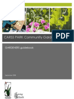 Community Garden - Gardeners Guidebook - Carss Park ~ by Russ Grayson