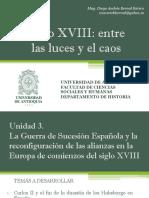 Unidad 3 La Guerra de Sucesión Española (Avances)