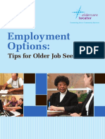 older jobseekers brochure