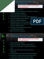 6ta Etapa Partido Proyectual