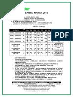 Santa Marta 2016