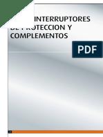 Especificaciones Interruptores y Tablero Bticino