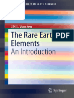 The Rare Earth Elements, An Introduction [J.H.L. Voncken, 2016] @Geo Pedia