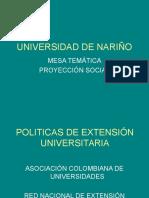 Politicas de Extension
