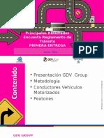 Encuesta sobre conductores y el nuevo reglamento