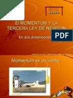 Momentum y 3ra Ley de Newton