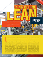 Rallying Behind Lean