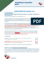 RESTPOSTEN.de Ratgeber Fanartikel
