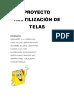 Proyecto Reutilizaciòn de Telas