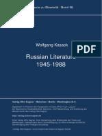 Russian Literature 1945-1988
