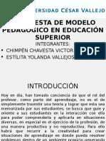 Propuesta de Modelo Pedagógico en Educación Superior