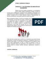 01 El Control Gerencial y Los Sistemas de Medición de Desempeño