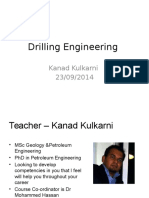 1.0 Introduction to Drilling
