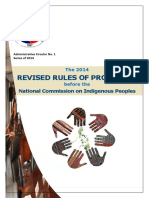RRP NCIP Rules of Procedure
