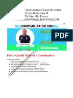 Appunti 1° lezione pratica Tecnica calcistica - Corso Uefa Base B