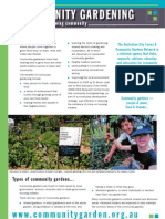 What is Community Gardening ~ Russ Grayson, Fiona Campbell