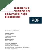 CORSO - DIGITALIZZAZIONE E CONSERVAZIONE DEI DOCUMENTI NELLE BIBLIOTECHE.docx