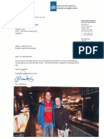 letter with photo of mark rutte