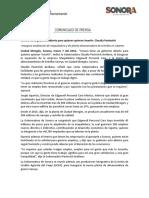 07-03-16 Sonora tiene gobierno abierto para quienes quieran invertir