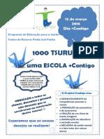 1000 Tsurus por uma escola +Contigo