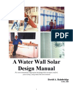 Water Walls Design Manual