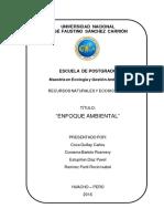 Recursos Naturlesy Ecosistemas - Primer Resumen