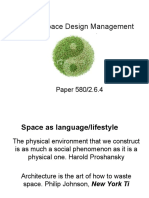 Lifestyle Space Design Management