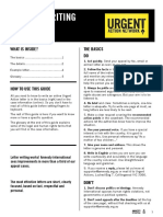 letter writing guide