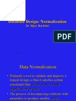 Normalization 450
