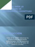 Ejercicios Para La Comprensión de Distorsiones Cognitivas