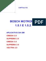 Bosch Motronic 1.5.1 e 1.5.2