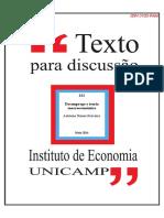 Desemprego e Teoria Macroeconomica