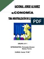 EL PROCESO DE INDUSTRIALIZACIÓN EN EL ECUADOR