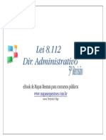 Lei8112.90-MapaMentalCompleto