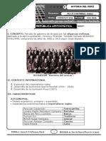 Republica Aristocratica 1899 - 1919