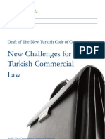 Draft of the New Turkish Code of Commerce - New Challenges for Turkish Commercial Law