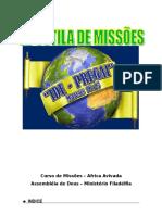 Apostila de Missões- Profa.flávia