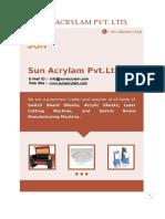 Catalog Sun Acrylam Pvt Ltd