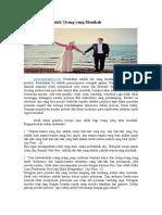 10 Janji Allah Kepada Orang Yang Menikah