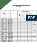 Lembar Checklist Pemberian Informasi Obat Pasien Rawat Jalan
