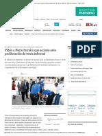 Piden a Mario Ferreiro Que Accione Ante Proliferación de Venta Informal - Edicion Impresa - ABC Color