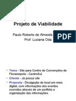 Projeto de Viabilidade Paulo Garcia
