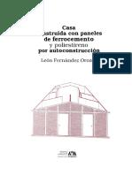 Casa Construida Con Paneles BAJO Azcapotzalco