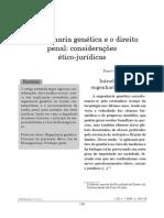 Engenharia Genética e o Direito Penal