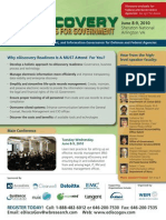 eDiscovery Readiness for Federal Government