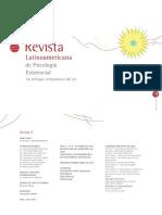 Psicología Humanista Existencial Latinoamericana
