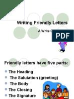 Friendly Letter PPT