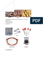 bioelektrik singkong